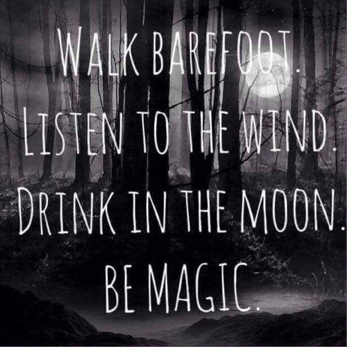 FEEL THE MAGIC..........  Via blessed wild apple girl