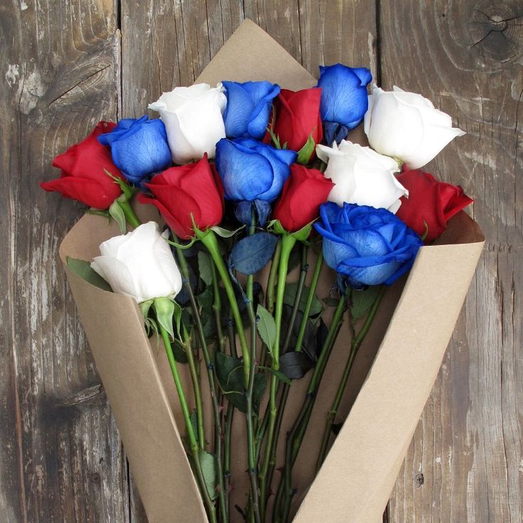all American bouquet!