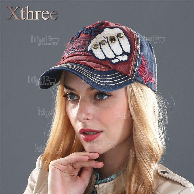 XTHREE Marka Unisex Yüksek Kaliteli Beyzbol Şapka Modelleri- IGD080608767