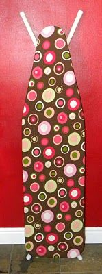 <3 A Load Of Craft: Tutorial: How To Make An Ironing Board Cover
