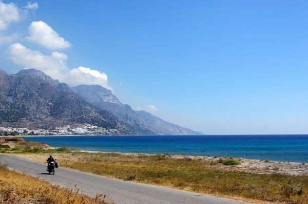 On a bike around Kos