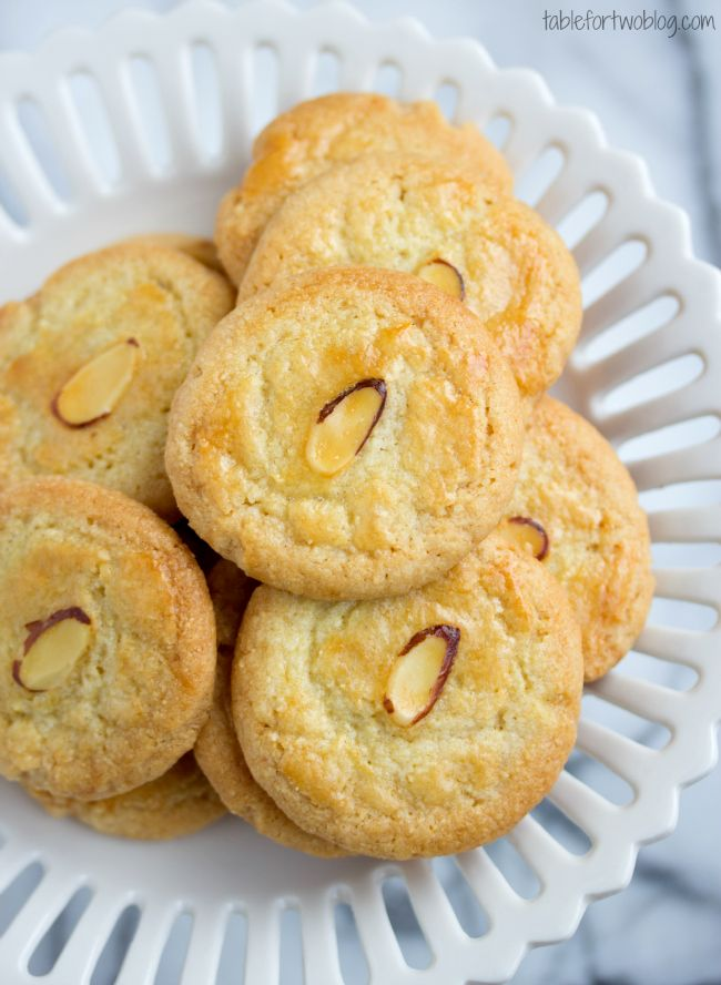 The best little almond cookies!