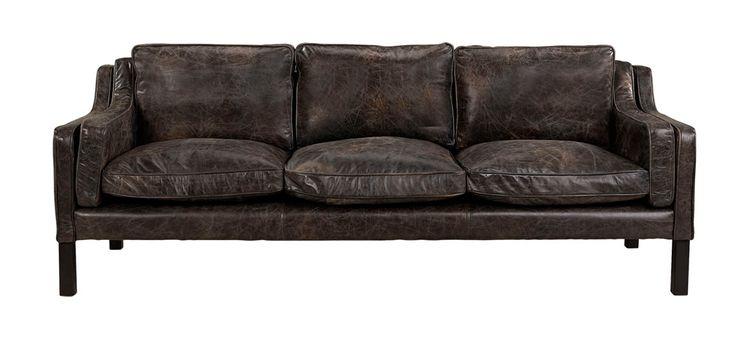 IMESH Soffa Läder Fudge - Newport