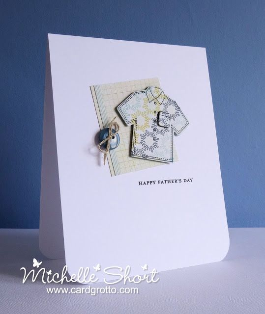 The Card Grotto: Father's Shirt