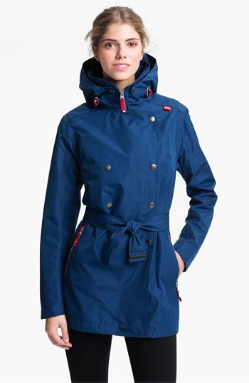 Helly Hansen 'Welsey' Trench available at #Nordstrom