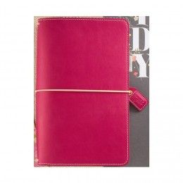 Websters - color crush travelers planner fuchsia