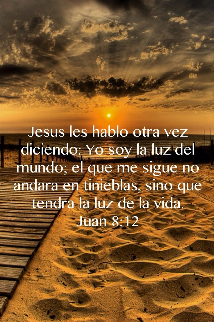 It's in Spanish but Jesus is the light!