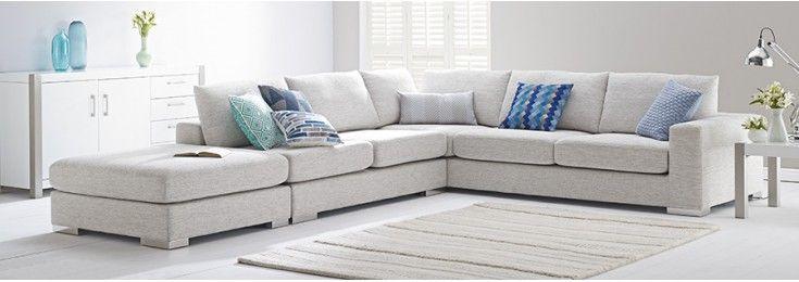 6 Seater Modular Sofa In Fabric Home Decor And Furniture