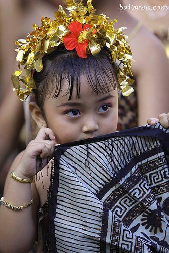 Tenganan Little Girl