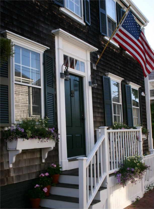 27 best images about stairs exterior on pinterest for Nantucket style house