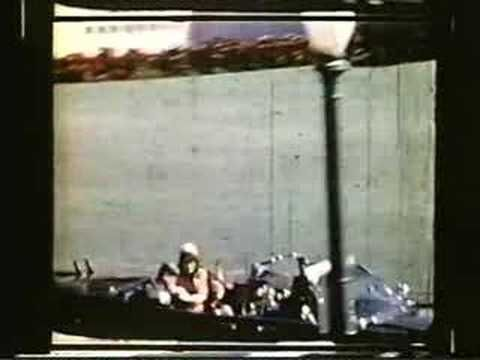 "The Undamaged Zapruder Film...hmm....look at ""all of the GIANT people"" in the background...calmly posing....again...lies."