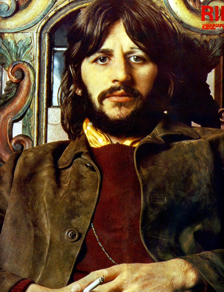 Ringo Starr Photo Used For The Sleeve Of It Dont Come Easy Released April