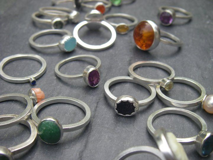 Lost & Found Stacking Rings
