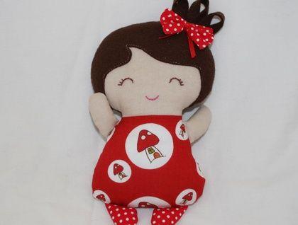 Tiny tot mini doll ready for adoption!
