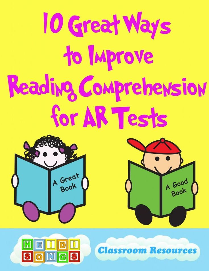 Ten Great Ways to Improve Reading #Comprehension