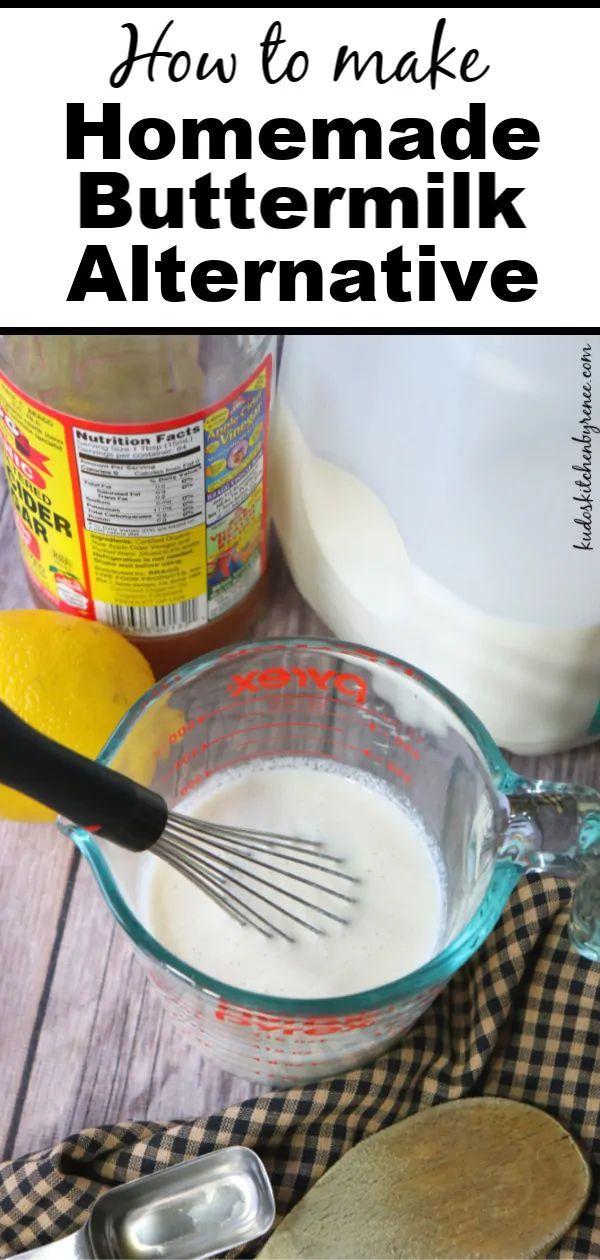 Homemade Buttermilk Alternative Buttermilk Baking Bakingbasics Ingredients Vinegar Buttermi Homemade Buttermilk Buttermilk Alternative Fun Baking Recipes