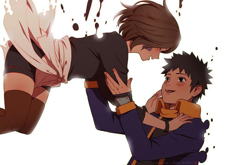 Naruto: Rin and Obito   Naruto The Best   Pinterest   Naruto