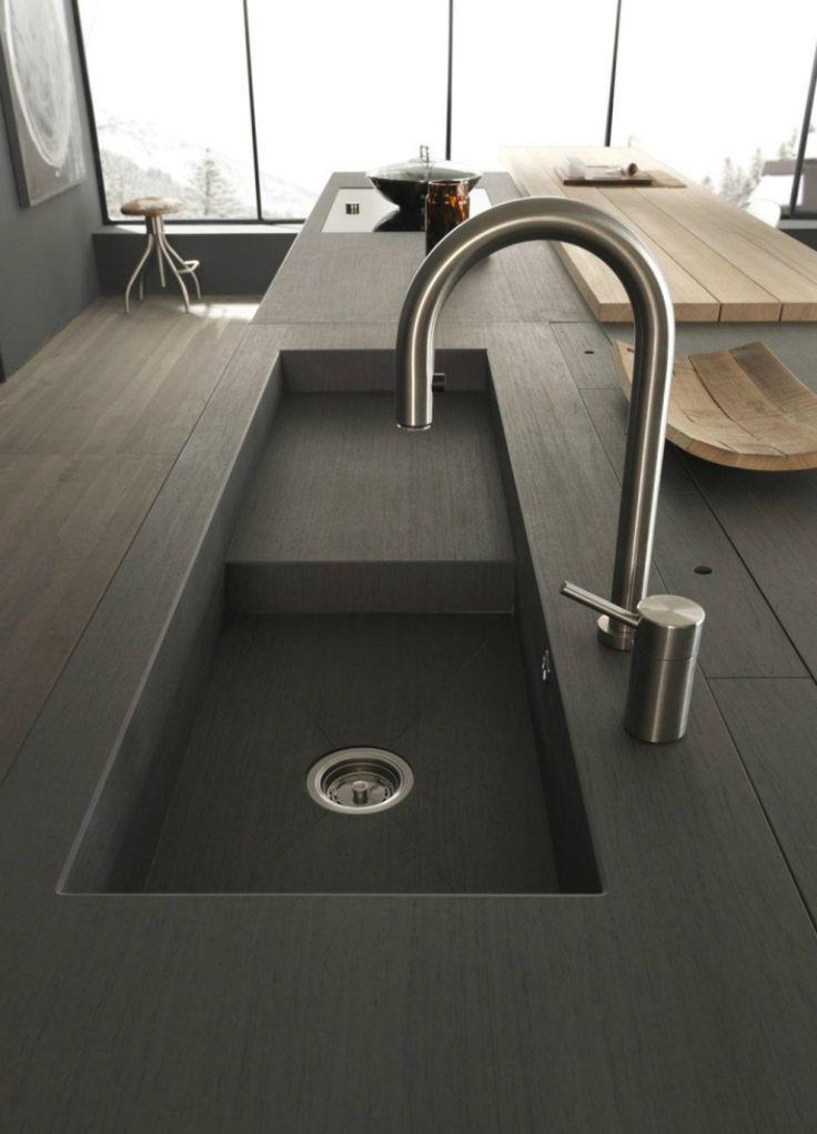 Moderne Kitchen Sink Designs, die aussehen, um Aufmerksamkeit zu gewinnen
