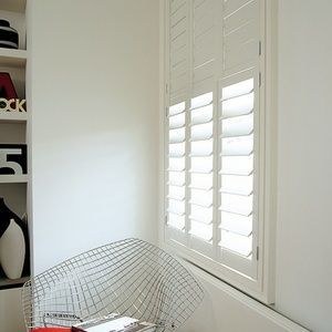 Soho shutters, Tier on tier 89mm blades Painted
