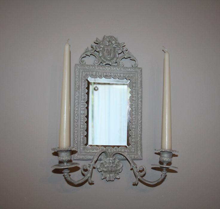 Miroir candélabre esprit baroque : Décorations murales par la-cage-a-deco