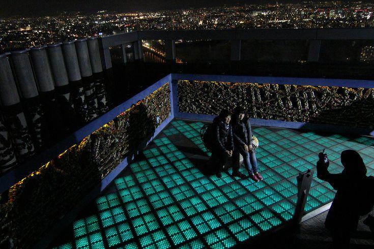 https://flic.kr/p/sncvS3 | Panoramic View from Floating Garden Observatory, Osaka