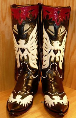 "Men`s cowboy boots "" austin hall boots "" flying eagles ..."