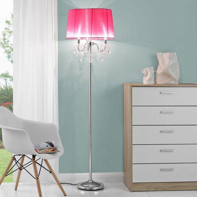 [lux.pro]® Elegáns állólámpa - nappali világítás - pink - Állólámpák - Beltéri világítás - Világítás - premiumxl Shop