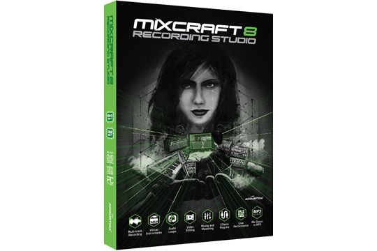 Acoustica Mixcraft 8 Multitrack Recording Software