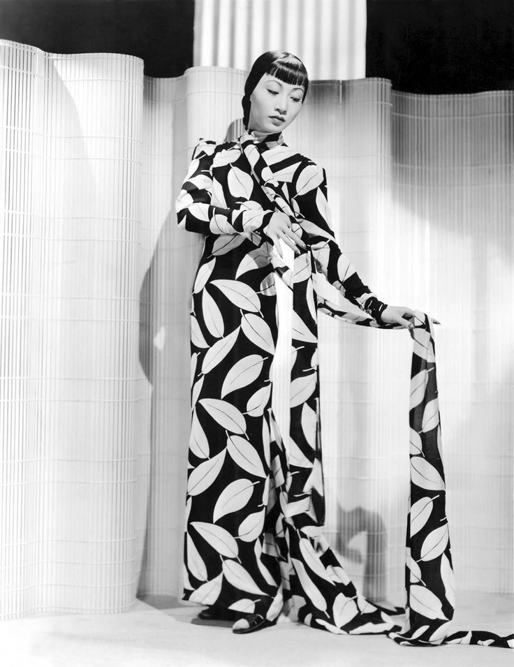 Anna May Wong in Dangerous to Know (1938, Paramount)  Designer: Edith Head