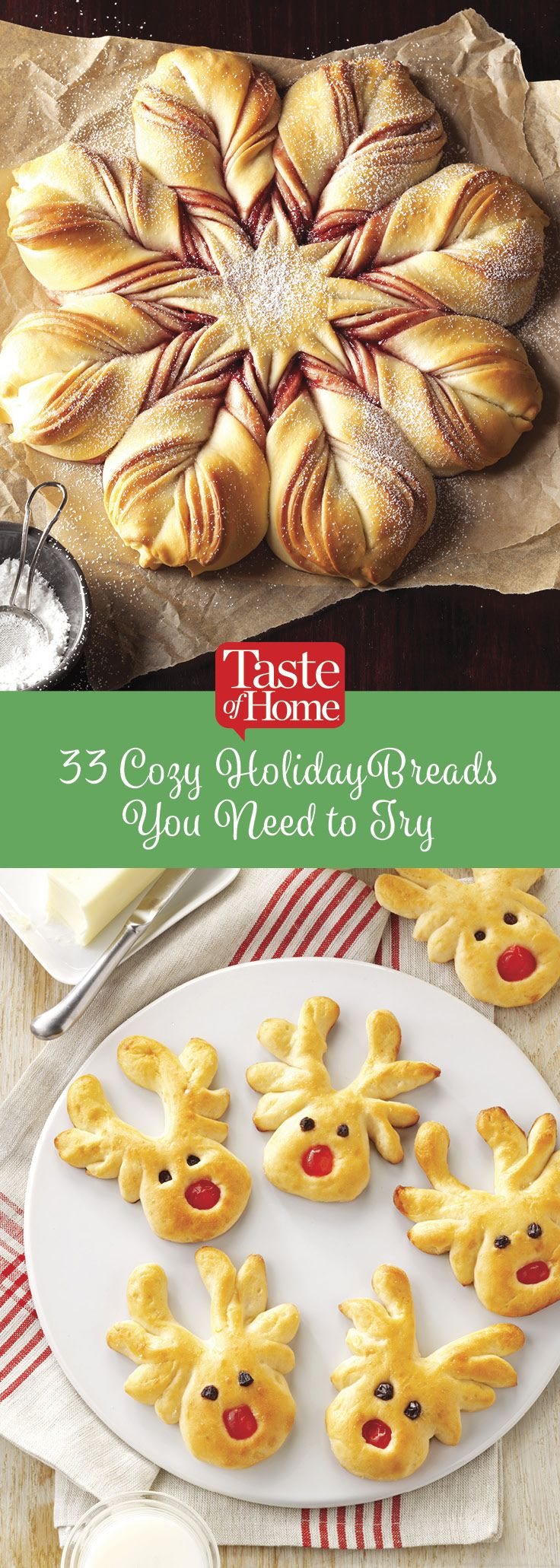 33 Cozy Holiday Breads You Need to Try