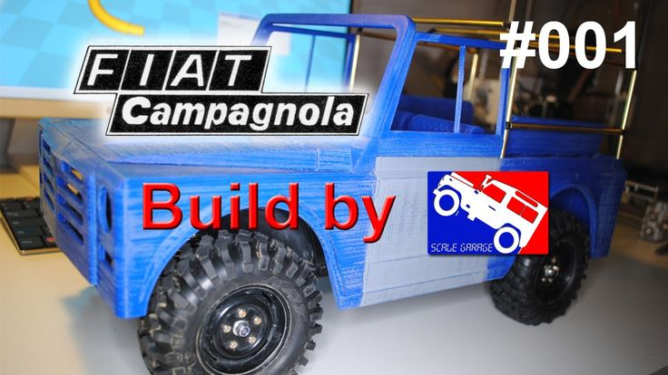 Scale Garage - Fiat Campagnola DIY Build on CC-01 Tamiya chassis #001