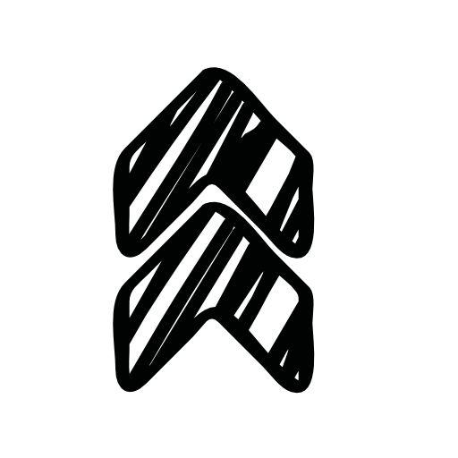 up arrow symbol icon