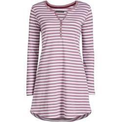 Essenza Acacia Rib Stripe Nachthemd Langarm Essenza Home