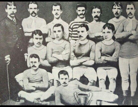 Blackburn Olympic winners 1883 FA Cup A bit odd