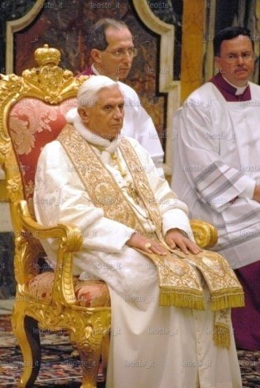 An analysis of pope benedict xvi