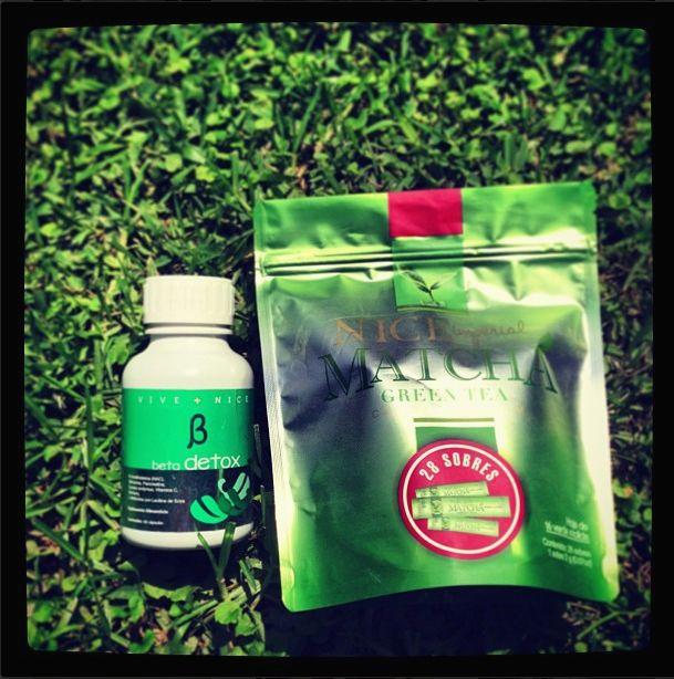NICE IMPERIAL MATCHA  GREEN TEA  &  BETA DETOX