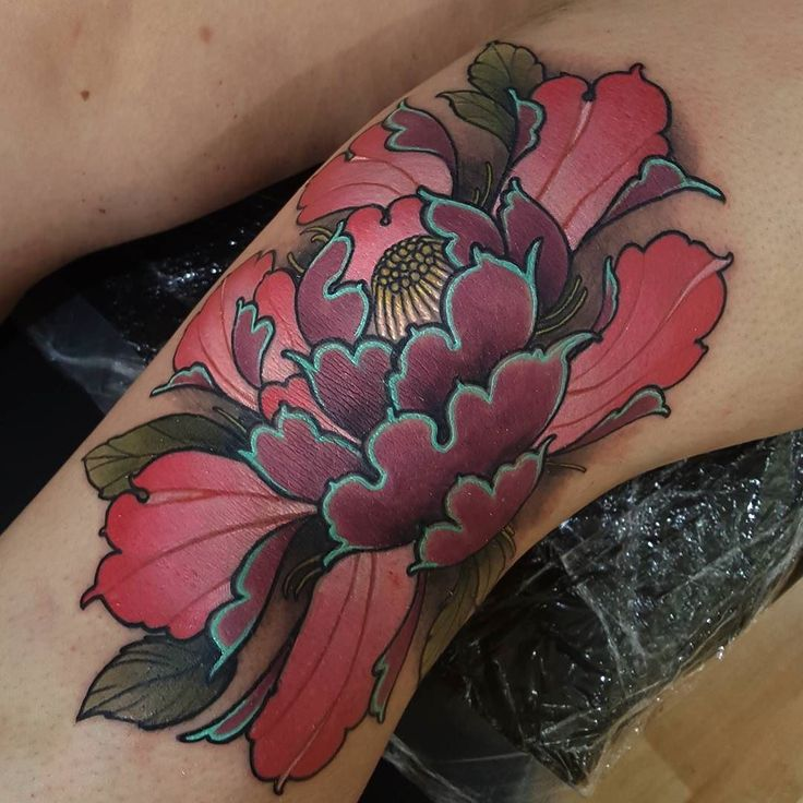 Best 25 Knee Tattoo Ideas On Pinterest: Best 25+ Japanese Peony Tattoo Ideas Only On Pinterest