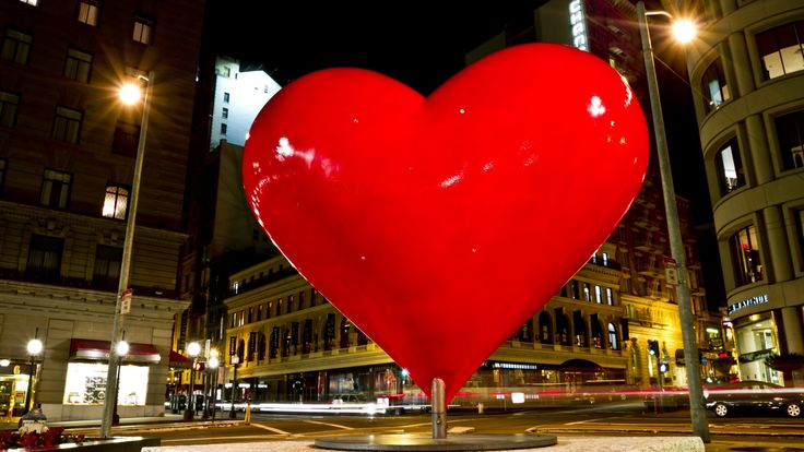 San Francisco Red Heart