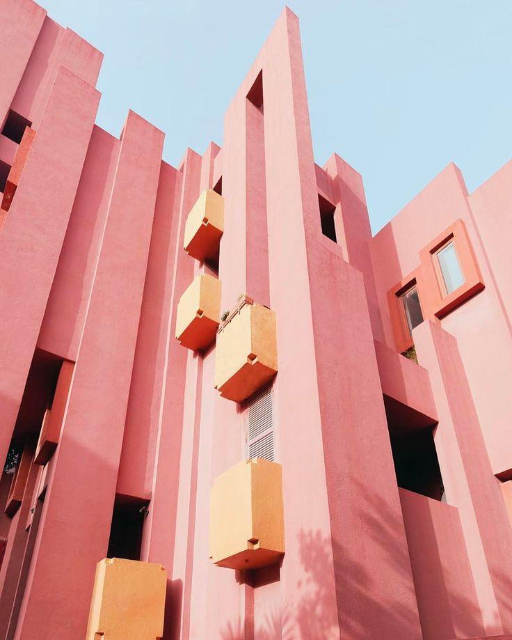 "3,523 Likes, 12 Comments - Minimal Zine (@minimalzine) on Instagram: ""'La Muralla Roja' behind the lens of the photographer Gregori Civera @gregori_civera x #minimalzine…"""