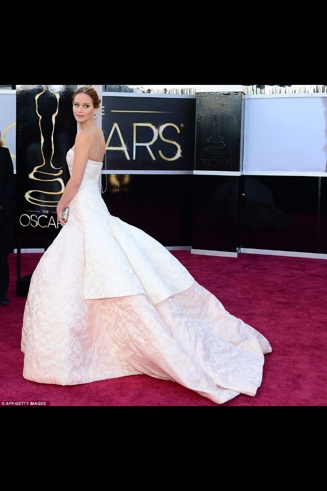 The Jennifer Lawrence at the Oscars (2013)