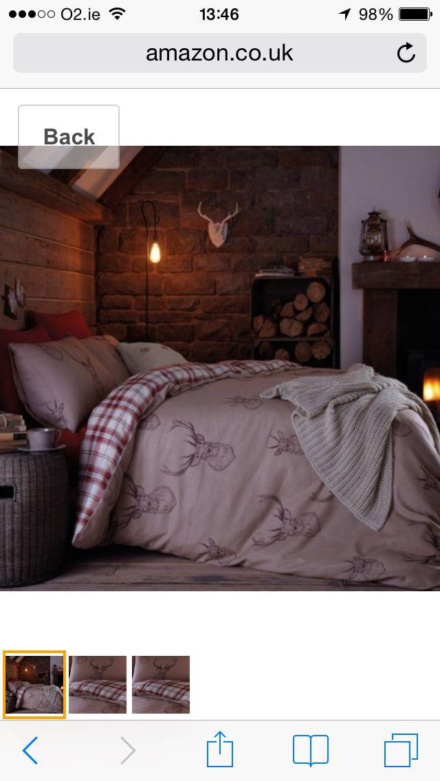 Stag duvet set second bedroom