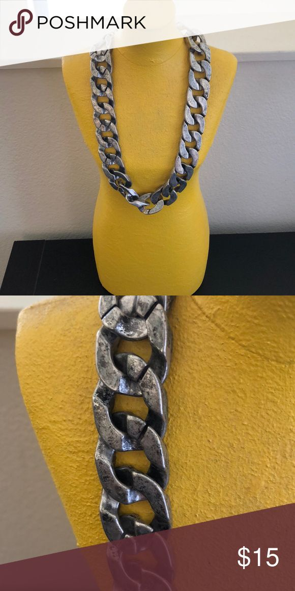 Chain link necklace Chunky chain necklace Zara Jewelry Necklaces