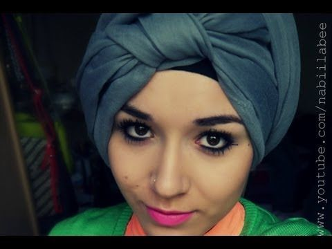 Turban Tutorial l Front Knot wrap (Hijab)super easy tutorial love it!!!