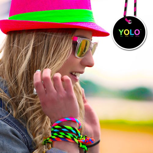 YOLO WAVES AND YOLO HAT! NEON FLOW!