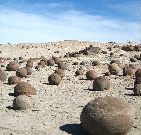 Argentine, désert de lune Plus
