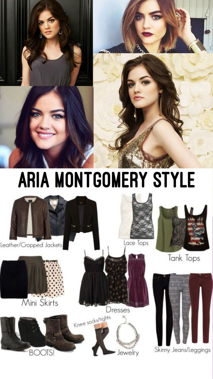 Aria Montgomery style                                                                                                                                                                                 More