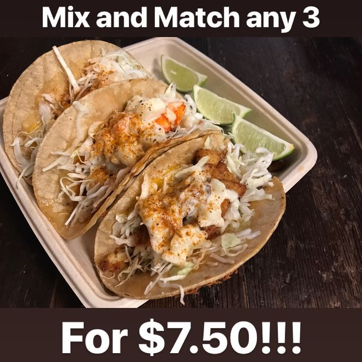 Its #TacoTuesday at #WickedMaineLobster HALF OFF TACOS ALL DAY . Come see your three best friends The Three Amigos!!! . #Shrimp Taco #ClamCake Taco #Lobstah Taco . Mix and Match any 3 for $7.50!!! . . #Wicked #Maine #Lobster #taco #tuesday #tuesdays #sdfoodie #sandiego #sdtacos #gotlobstah #cheese #clamchowder #corntortilla #foodporn #deal #halfoff #libertystation #libertypublicmarket #lobstah #shrimp #clamcakes #shrimptaco #tacos #food #foodie #foodporn
