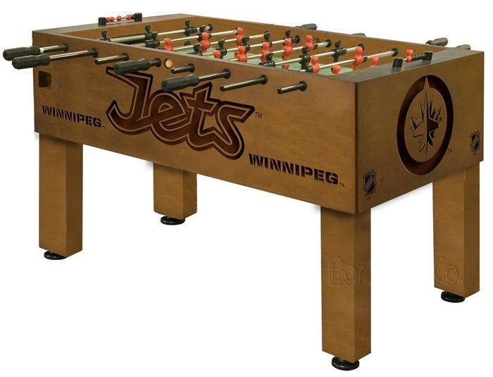Use this Exclusive coupon code: PINFIVE to receive an additional 5% off the Winnipeg Jets Foosball Table at sportsfansplus.com