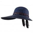 Big Brim Sewn Wheat Hat