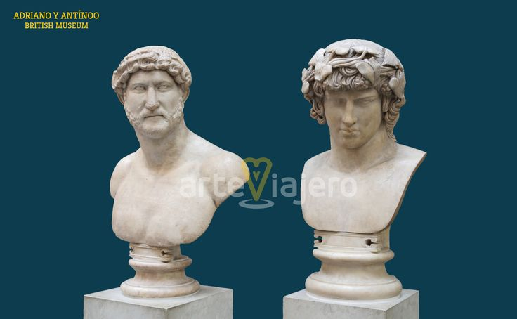 Adriano y Antínoo, British Museum